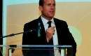 Trent Wotherspoon speaking at the Leaders Gala 2011